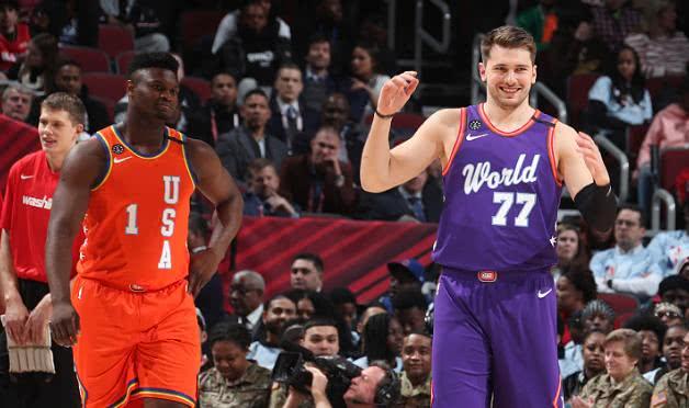 全明星新秀赛美国队大逆转世界队,世界篮球何时才是出头地?