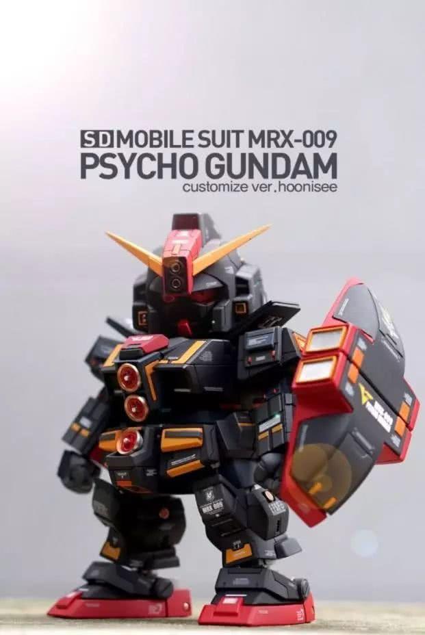 模玩控:细节不输MG的SD比例精神力高达