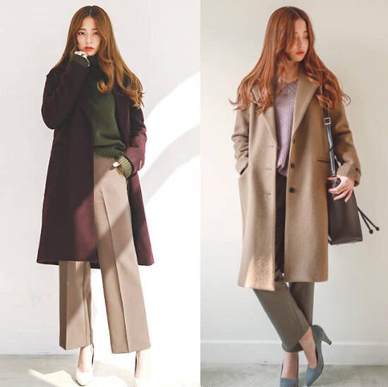 秋天外套不用买太多,韩国博主超接地气的穿搭,温暖有层次感!