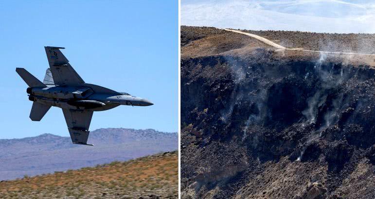 """美军战机在""""中国湖""""坠机,导致7人受伤,局座也不看好这款战机"""