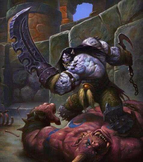 勇士不幸被俘,遭敌人砍断双手,遂将双手变成双刀,成复仇的死神