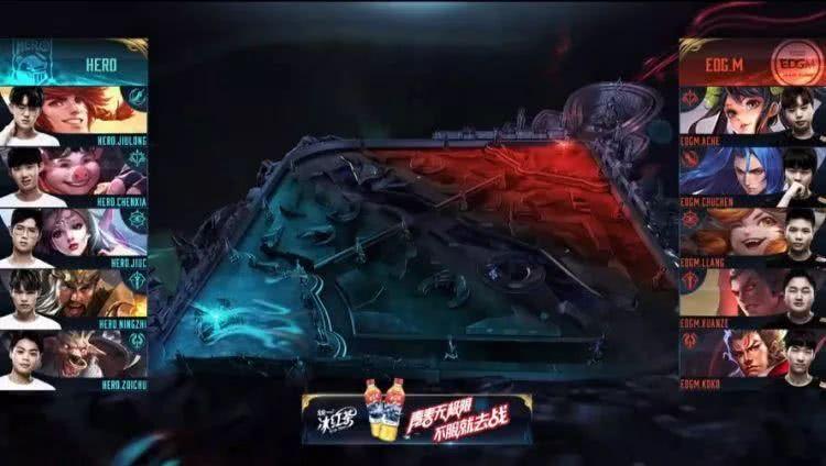 王者荣耀:EDGM不敌Hero止步八强,只会运营,不会打架?