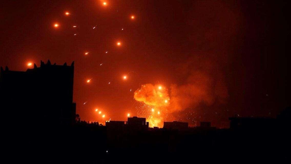 <b>美使馆凌晨拉响导弹警报,连续传来四声巨响,多架战机升空报复</b>