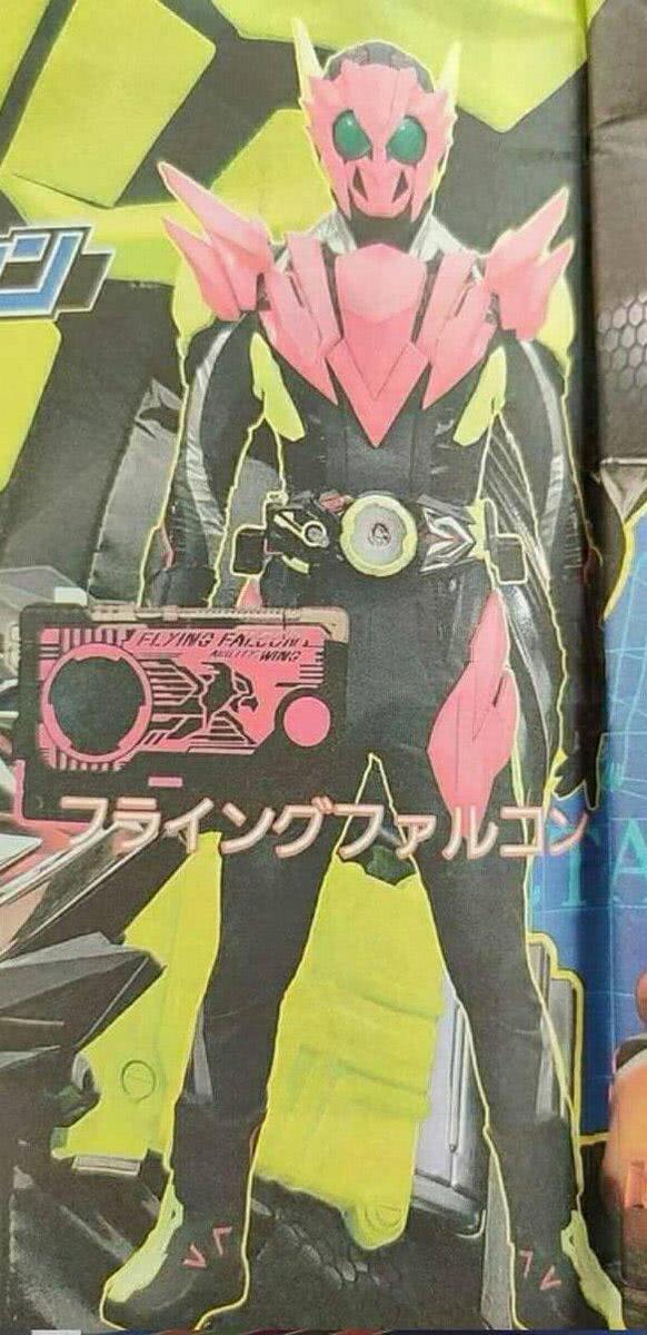 假面骑士01飞鹰形态形象公开 初战比肩复活者盖茨