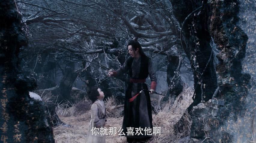 《陈情令》魏婴3次吃蓝湛的醋,1次因为阿苑,1次是因为小绵绵