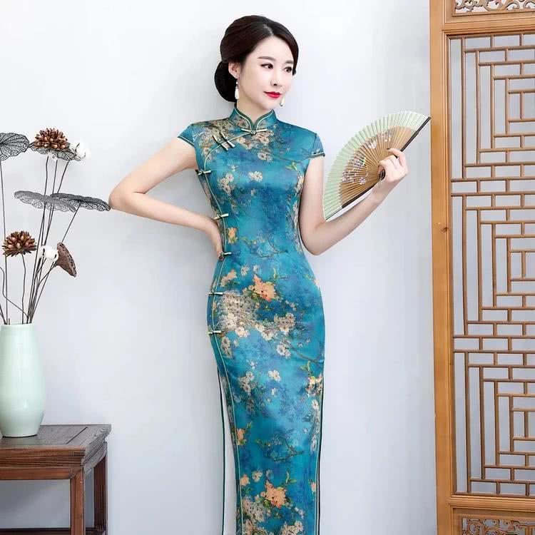 韵致妈妈的贴身旗袍,解读时尚,端庄风韵!