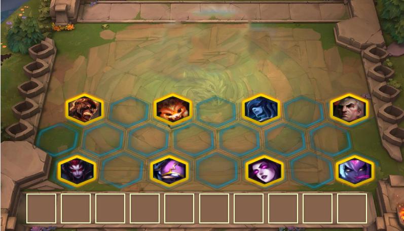 云顶之弈:最佳上分阵容,恶魔元素换形师上分如喝水!
