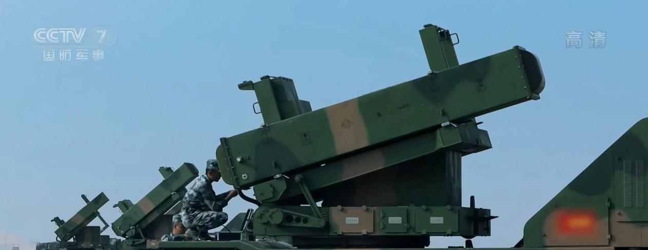 <b>型号是越来越多,解放军一防空导弹的性能很不错,可编织天网</b>