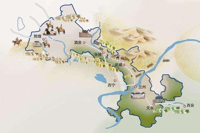 """沟通东西,在中国历史上举足轻重,这条""""走廊""""是古代王朝的命根"""