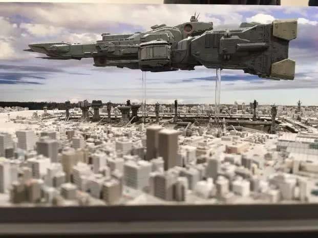 模玩控:《超时空要塞》震撼场景还原LIFTOFF