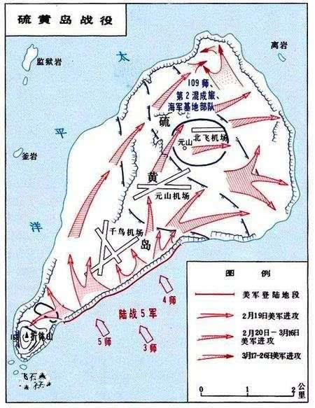 硫磺岛战役美军损失惨重,为什么非要进攻,不选择困死日军?