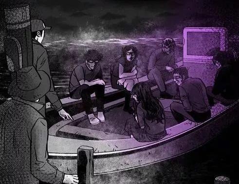 死格之《詭異的船》