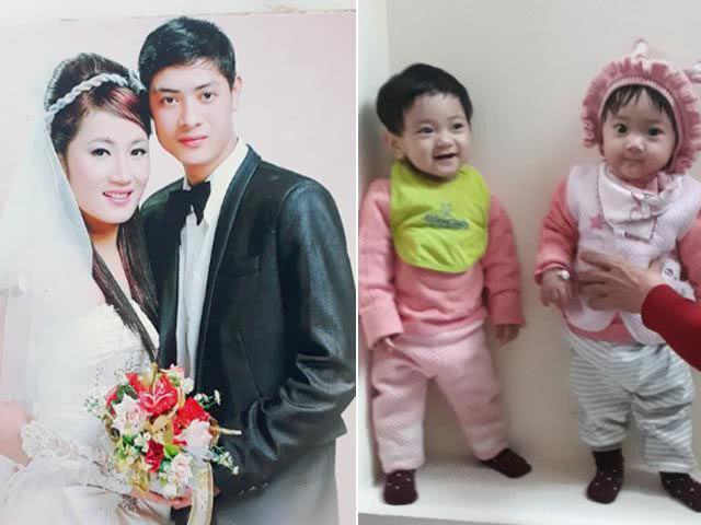 女子结婚9年终于生下双胞胎,4年前曾怀过双胞胎未出生就夭折了