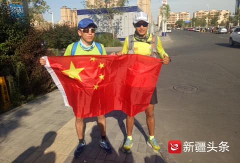 奔跑吧兄弟!昌吉学院两名学生跑800公里回家