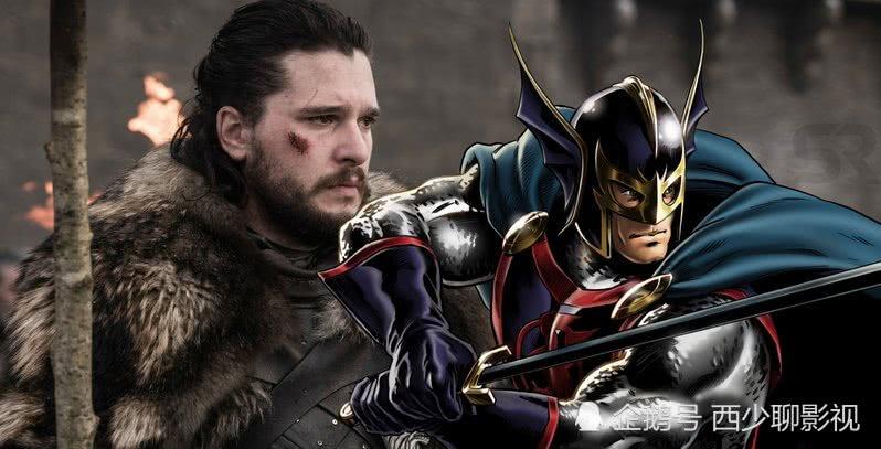 """漫威官宣,""""琼恩·雪诺""""成为MCU的黑骑士,在《永恒族》登场"""