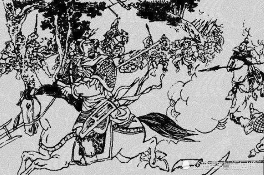 敌兵进城,皇帝想跑未遂,掉井里四人拽不动,敌兵:少有的蠢物!