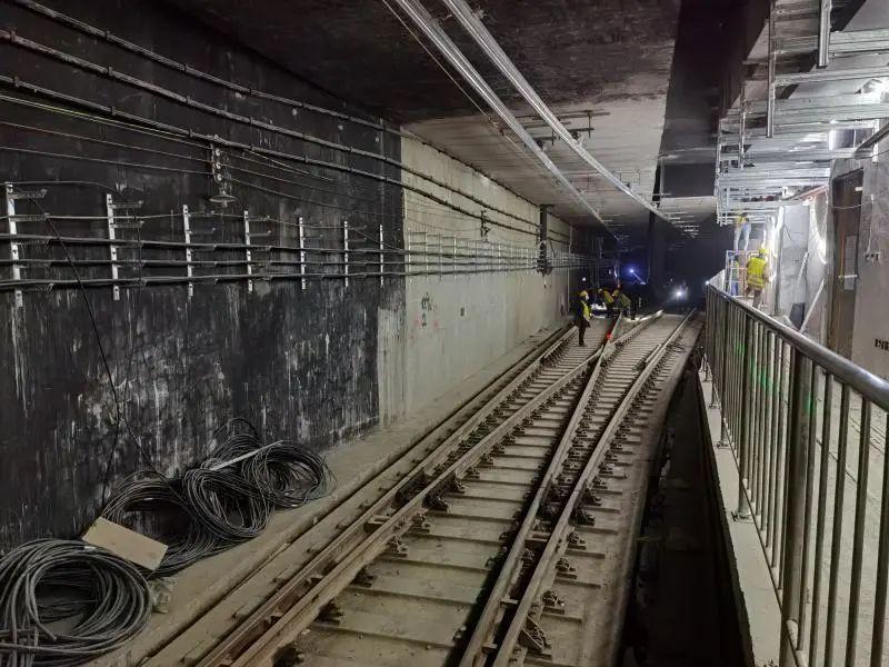 """「地铁6号线线路图」哈尔滨地铁2号线全线""""电通""""!预计下月""""车通"""""""