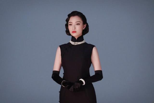 31岁倪妮旗袍新造型韵味十足,演绎清冷妩媚的民国风