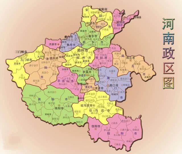 哪个城市会成为河南第三大市:许昌、南阳、商丘、周口还是新乡