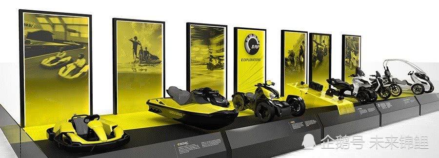 BRP发表6款EV概念摩托车 连水上摩托车也是电动的