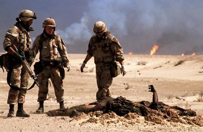 参加伊拉克和阿富汗战争的百万美军,有46万得怪病,上万人死亡