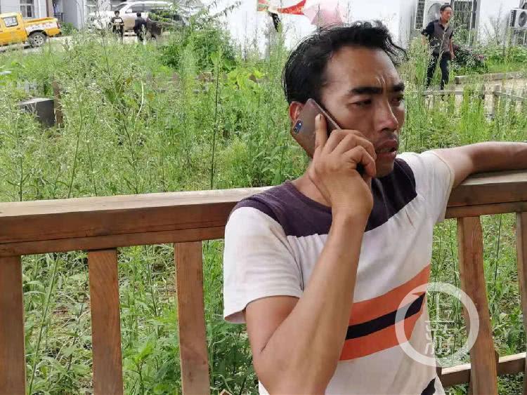 贵州特大滑坡事故现场:泥沙下的遇难母子至死相拥