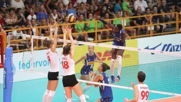 土耳其、意大利女排连续进行两场热身赛 艾达火线复出、不容小视