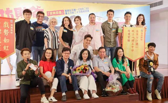 """""""石榴姐""""时隔多年再拍TVB剧 马来视后坦言在前辈面前像学生"""