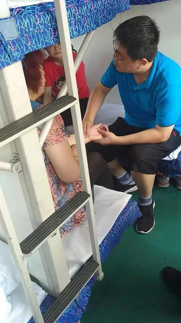 火车上乘客突发不适,漯河教师危急时刻挺身而出!