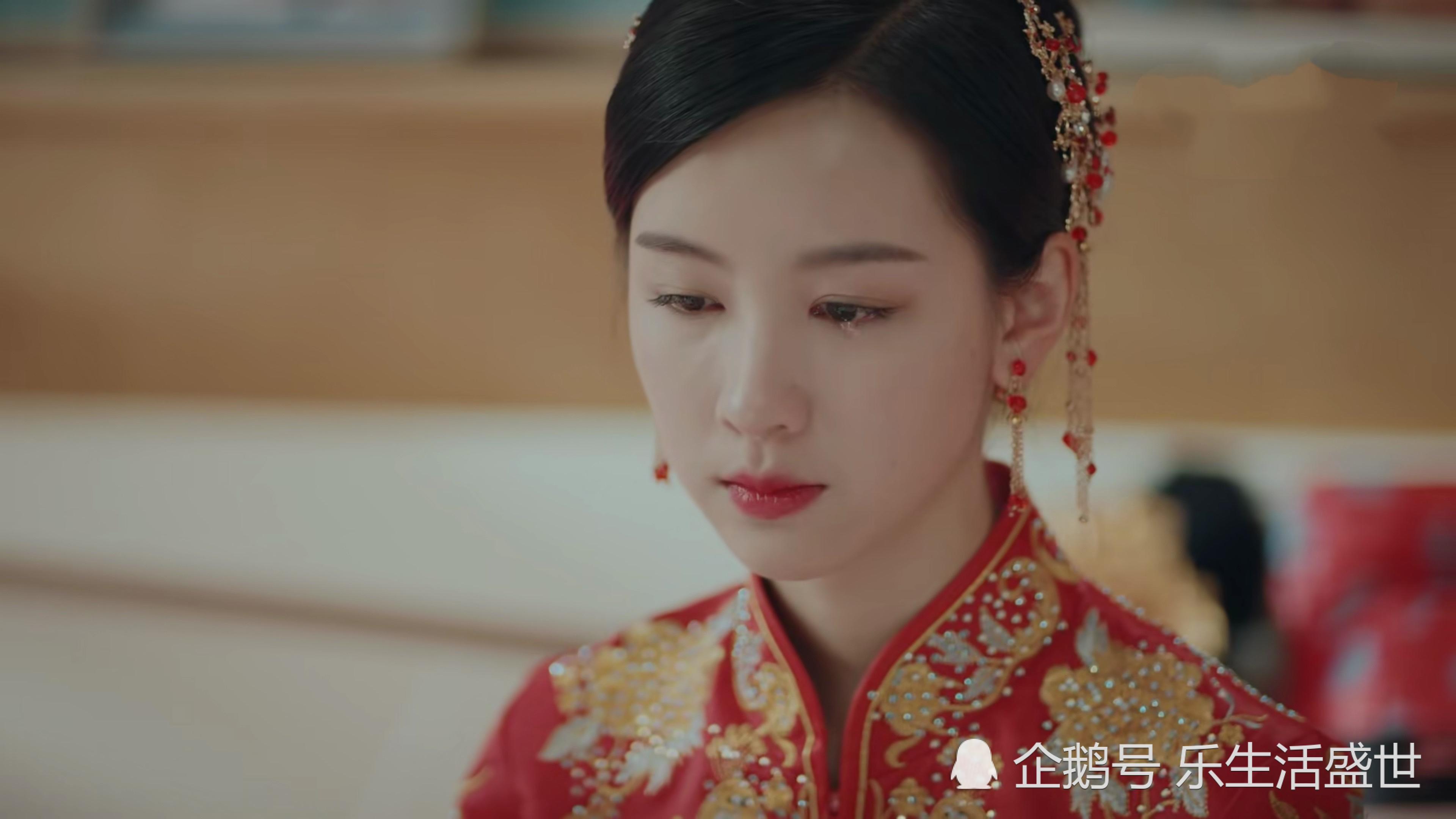 七月婚礼被抛弃,她的红色嫁衣很惊艳,陈都灵气质独特成最美新娘