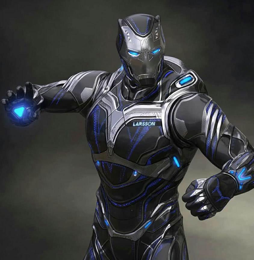 《破坏控制》最新概念海报:合体黑豹曝光,钢铁侠的技术又出现了!