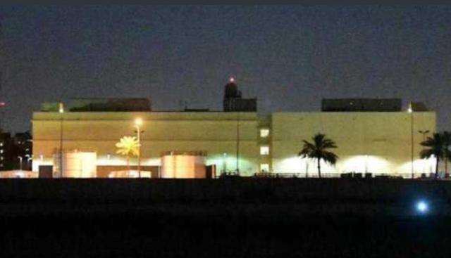 美国驻巴格达大使馆附近遭火箭弹袭击,紧急应对、警报响起两次