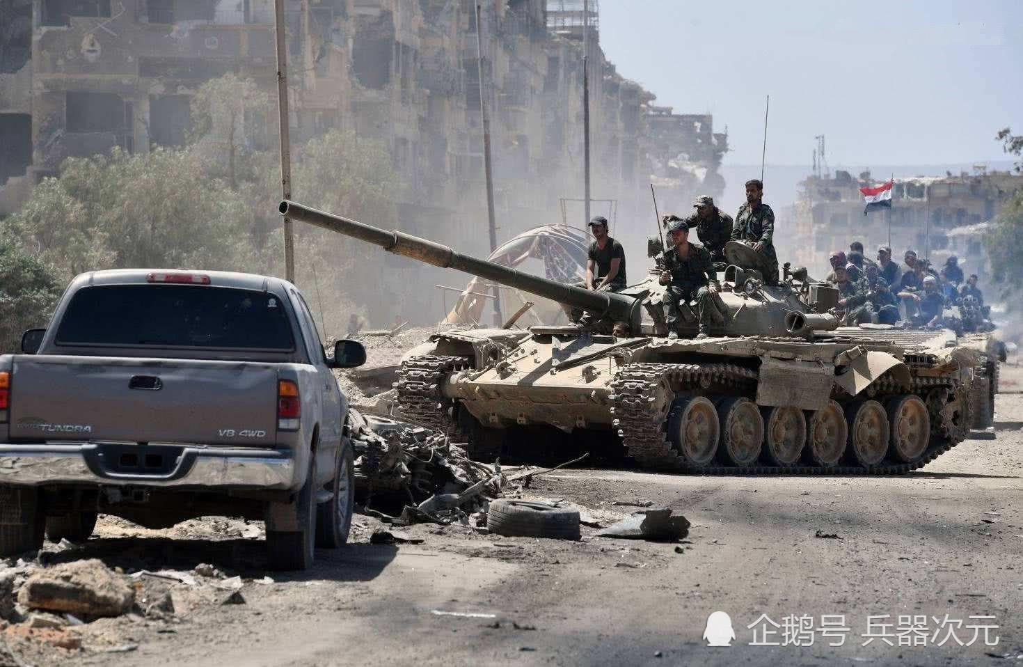 2万武装分子发动反攻,政府军阵地15次易主,叙利亚战场告急