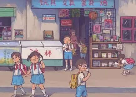 学校门口的童年美食,图二没人能忍住诱惑,图四现已很少见