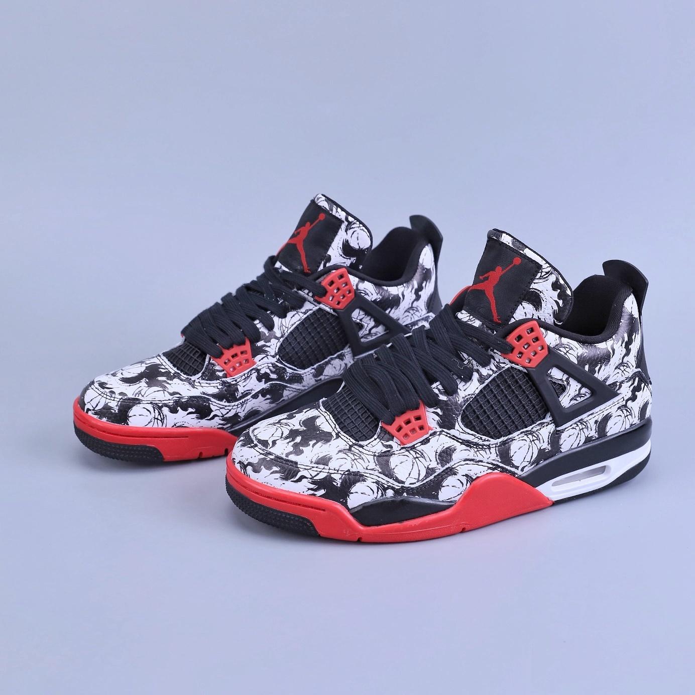 <b>AJ带纹身,谁都拦不住!Air Jordan 4 纹身涂鸦中国风开箱!</b>