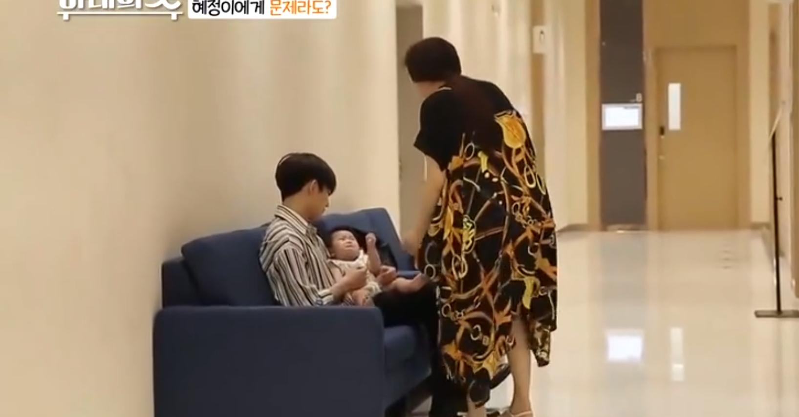 陈华说漏女儿有问题!有谁注意宝宝看到妈妈的反应?咸素媛扎心了