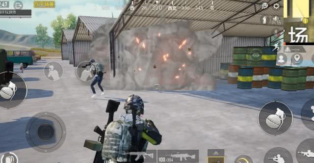 和平精英:油桶加入爆炸功能,这3种引爆方法都要学会!