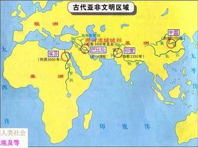 世界四大文明古国,为什么就只剩下了中国看完秒懂!