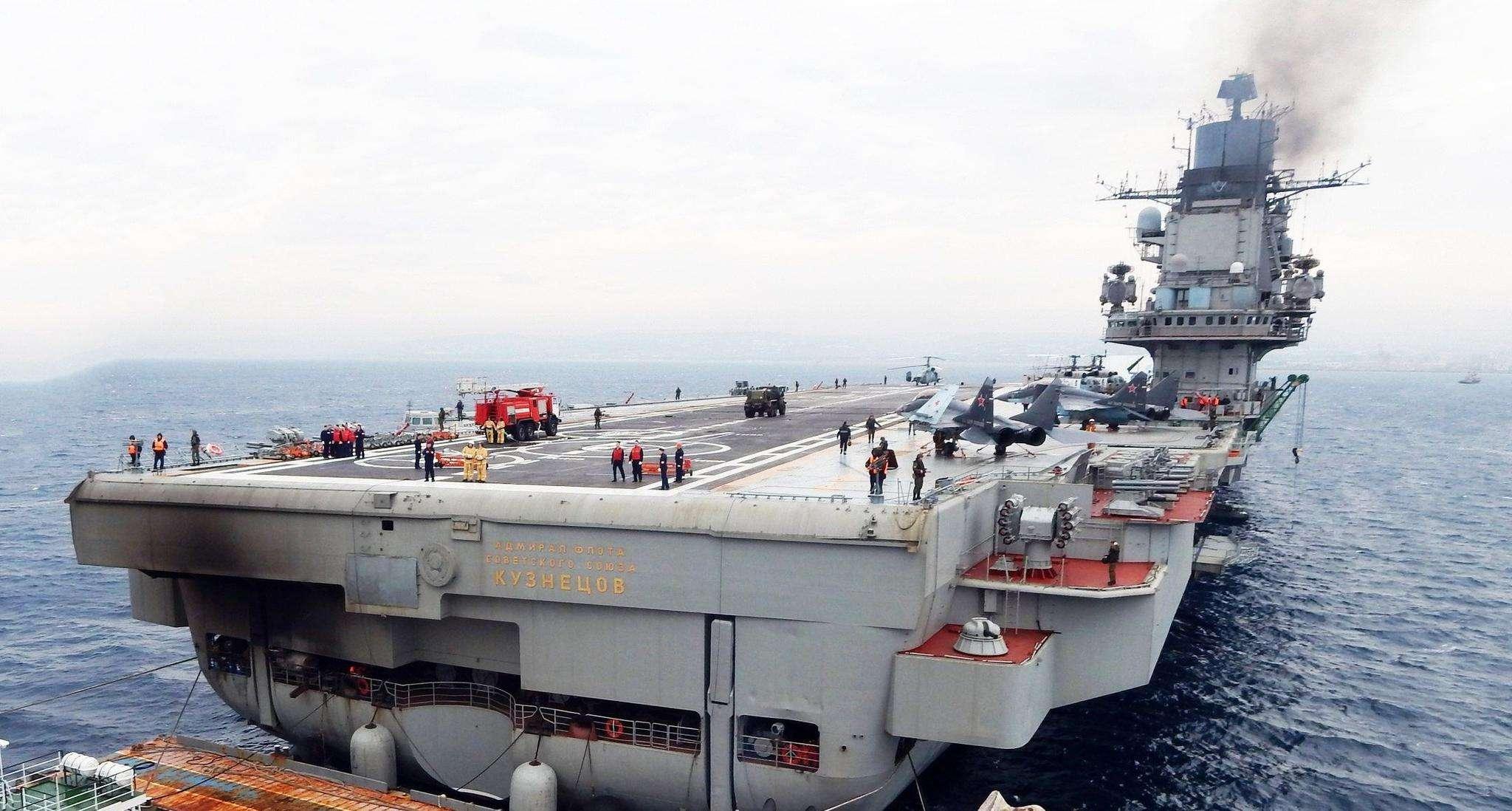 库兹涅佐夫航母火灾损失评估出炉,金钱数额不会惊吓和取悦任何人