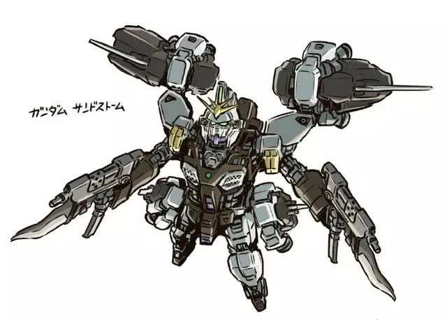 模玩控:重新定义W五小强,陆战型的飞翼你见过吗?
