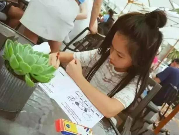 夕又米养娃严厉,zoe要学画画古筝,高晓松却教育女儿随遇而安