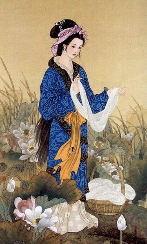 中国古代四大美女:西施让夫差误己误国,杨玉环集万千宠爱于一身