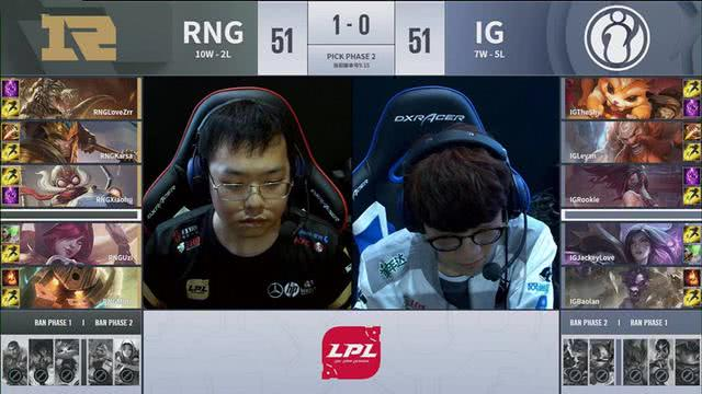 IG和RNG水平太低!包子:跟我打rank一样,说什么职业