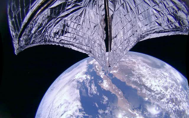 行星协会宣布:首次依赖太阳光能,光帆2号提升轨道1.7公里