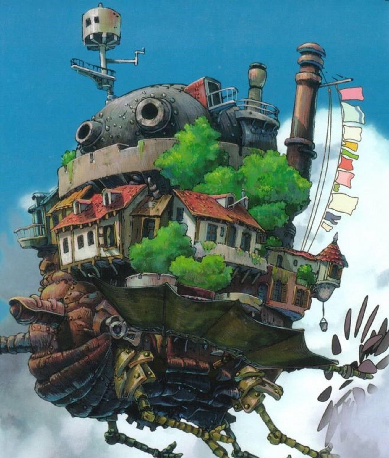 宫崎骏在《哈尔的移动城堡》中对生命的理解,返璞归真:爱与纯真