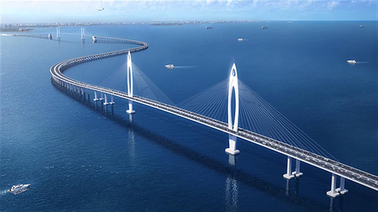 继港珠澳大桥之后,广东又一重大工程,耗资500亿,连接中山深圳