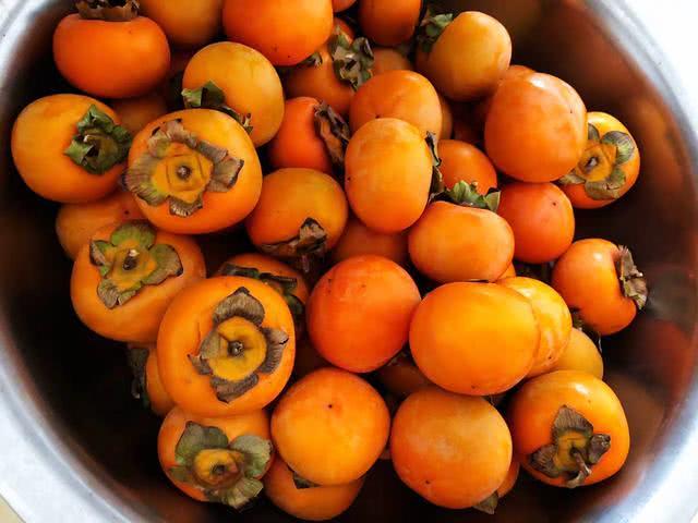 都说柿子不能空腹,第一口空腹,那第二口呢