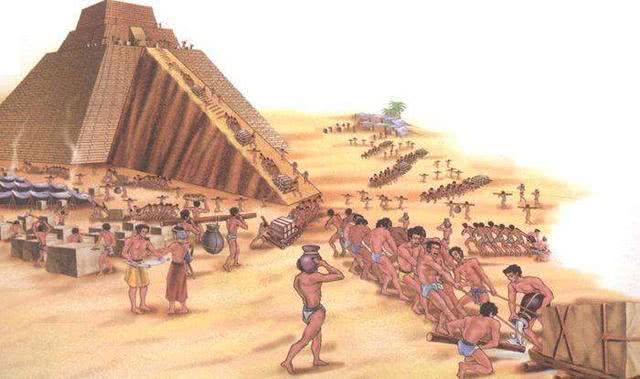 古埃及人在建造金字塔的时候,中国人在干什么网友:我的祖宗还没出生