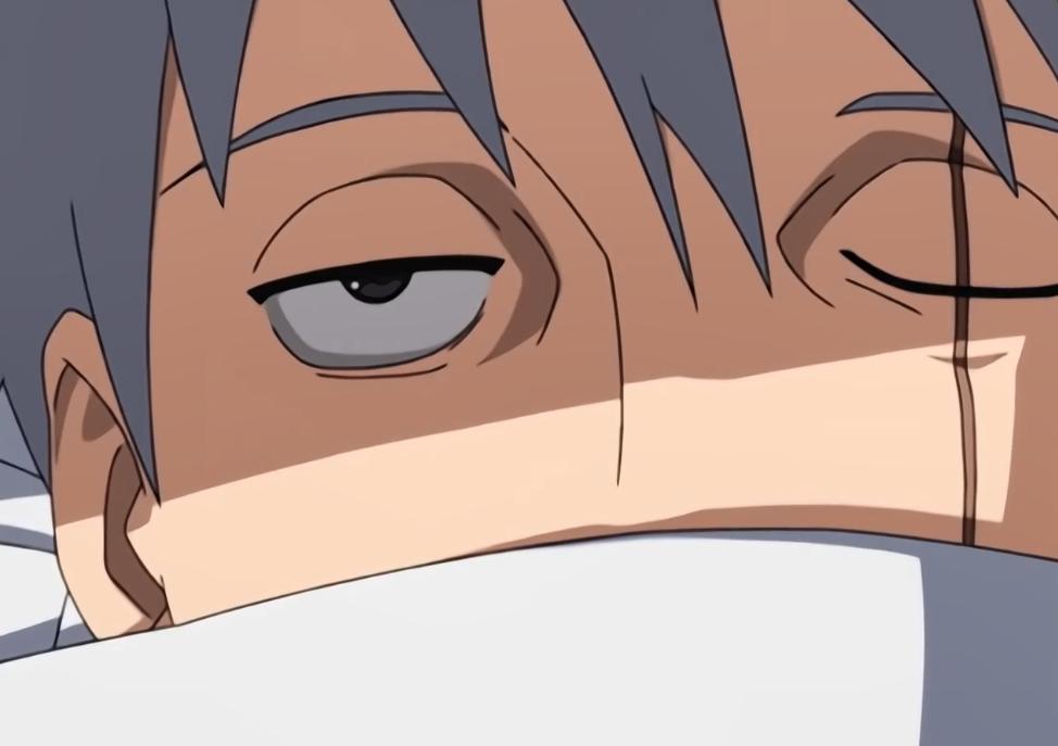 火影:卡卡西躺在病床上一副颓废样,自来也的探病礼物让他振作