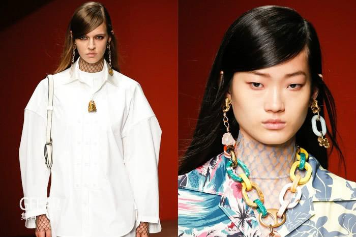 除了不同形式的刘海造型,长发时尚女性还有这个选择!
